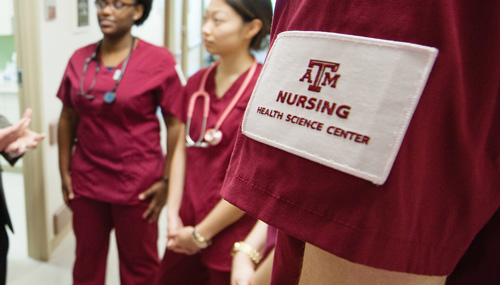 Two Texas A&M Health Science Center College of Nursing alumni recently received the honor of the DAISY Award for Extraordinary Nurses.