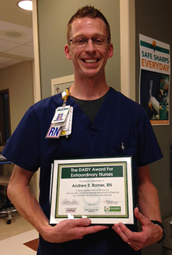 Andrew Barner, BSN, RN, Seton Medical Center Williamson Intensive Care Unit