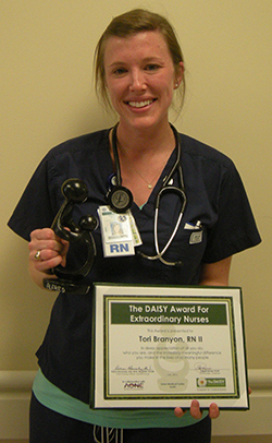 Tori Branyon, BSN, RN, Seton Medical Center Austin Intermediate Care
