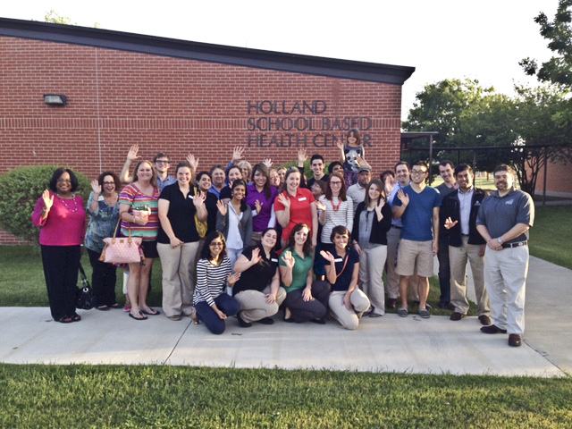 Faculty and students who participated in the Rural Health Rotations Program outside of the HISD school clinic