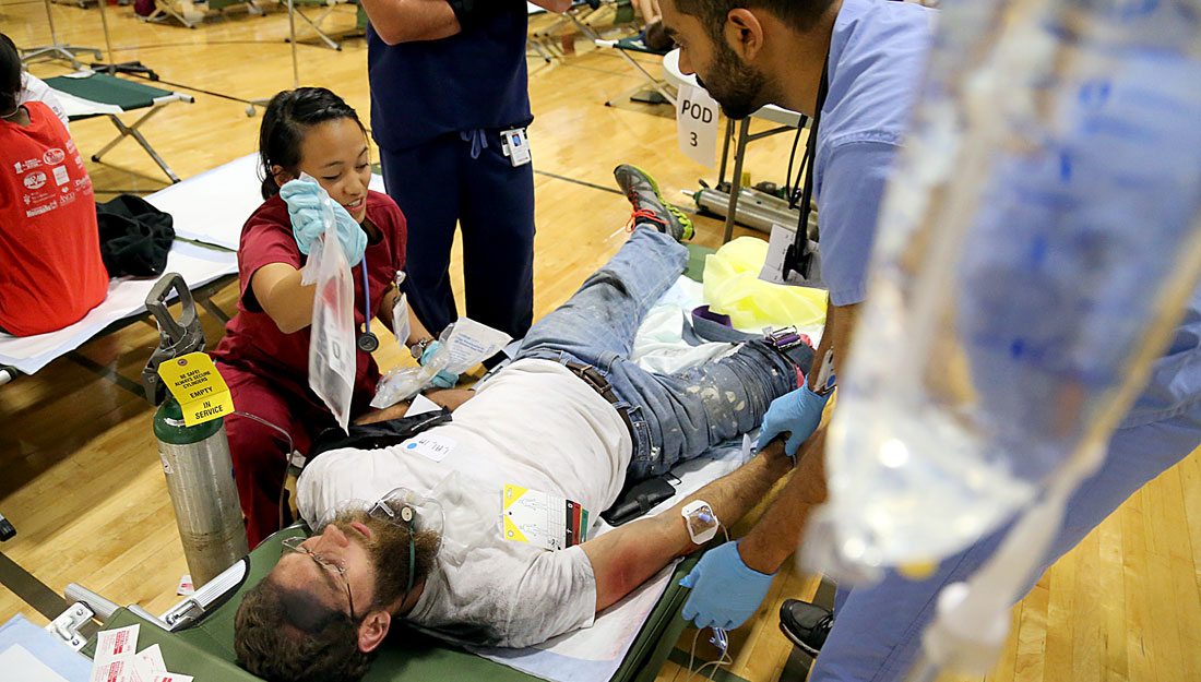 texas a&m health science center's disaster day