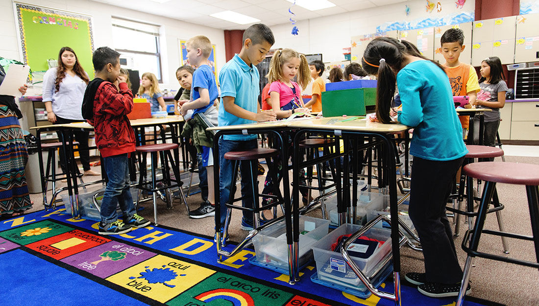 Standing Desks Lead To Improved Bmi In Children Research