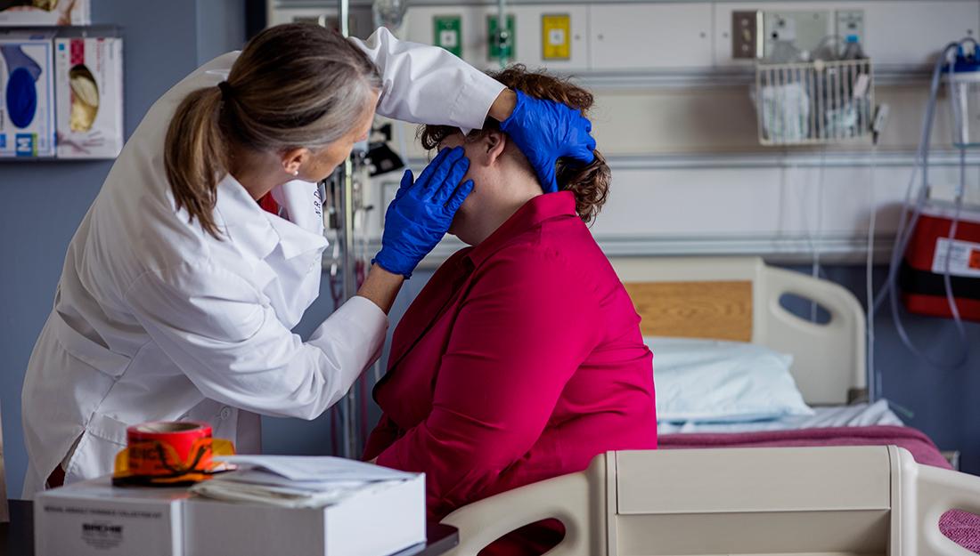 Forensic nursing exam
