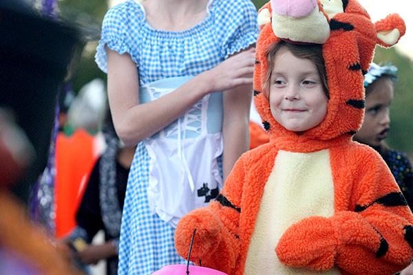 Make sure your child's costume fits well so they don't trip over anything too long or ill-fitting