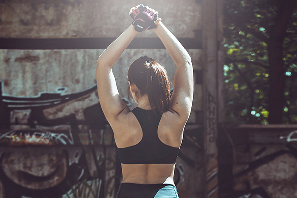 Yoga poses can help build muscle