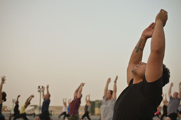 Your heart can benefit from a quick pace yoga session