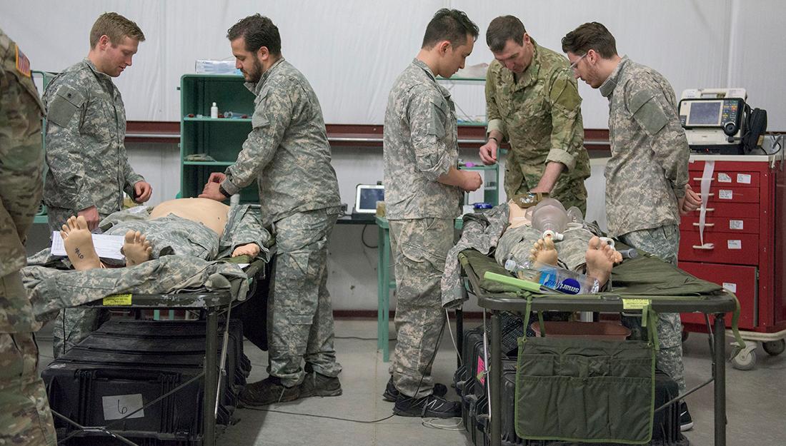military medicine training course