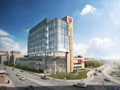 Texas A&M College of Dentistry Clinic and Education Building Rendering