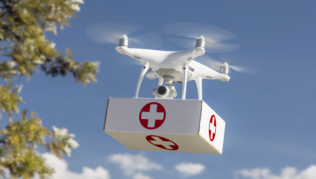 Drone care: Researchers study proposed health care delivery method - Vital  Record