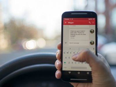 Distracted driving can be a danger to the roads