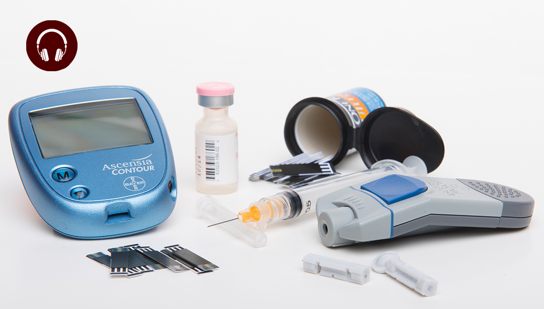 Diabetes insulin equipment