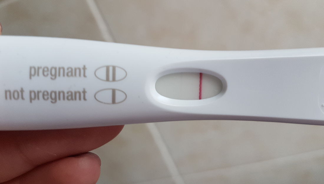 Can you get pregnant on your period_fertility_a pregnancy test that shows negative