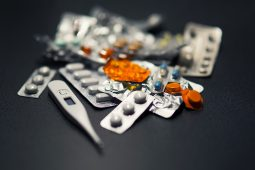 Medications in summer_A pile of various medications in their respective packages