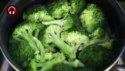 A bowl of broccoli