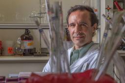 Jeff Cirillo in his lab