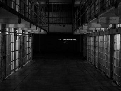 empty prison cells