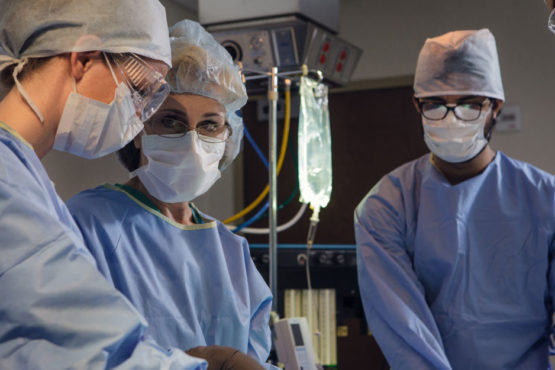 surgical team inside operating room